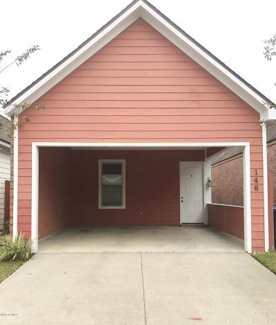 Lafayette Single Family Home For Sale: 146 Treasure Cove
