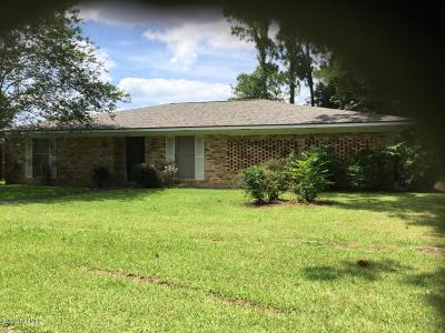 Vermilion Parish Single Family Home For Sale: 2421 Frankie Street