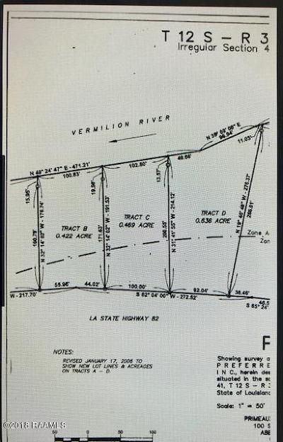 Vermilion Parish Farm For Sale: 10618 N La Hwy 82