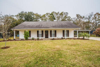 Lafayette  Single Family Home For Sale: 108 W Bayou Shore Street