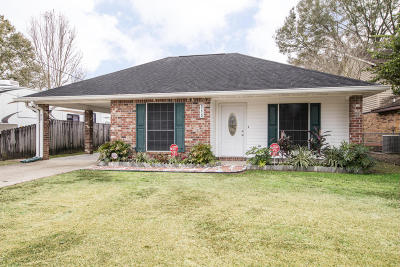 Carencro Single Family Home For Sale: 315 Kelso Drive