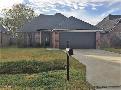 Lafayette Parish, Vermilion Parish Single Family Home For Sale: 209 Milton Estates Lane