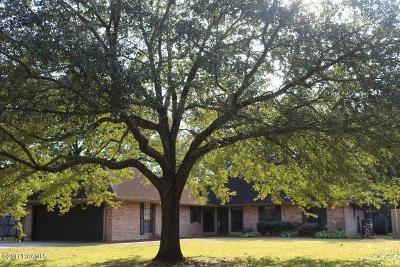 Lafayette Single Family Home For Sale: 603 E Bayou Parkway