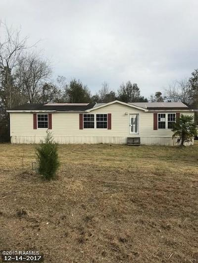 New Iberia Single Family Home For Sale: 4715 Avery Island Road