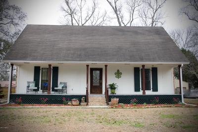 New Iberia Single Family Home For Sale: 1113 Macburne Drive