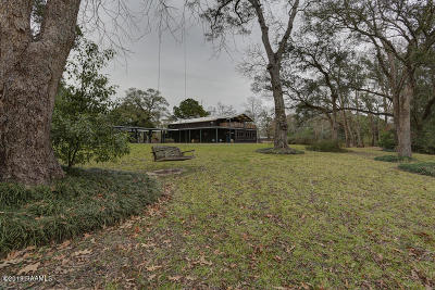 New Iberia Single Family Home For Sale: 2212 Sugarmill Road