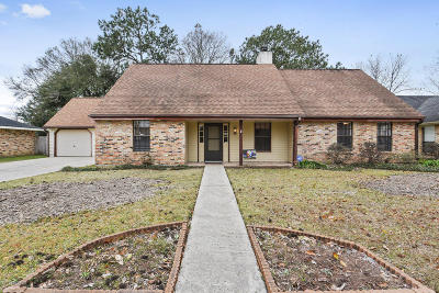 Lafayette Single Family Home For Sale: 116 Aspasie Drive