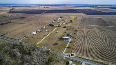St Mary Parish Residential Lots & Land For Sale: 5134 Hwy 87