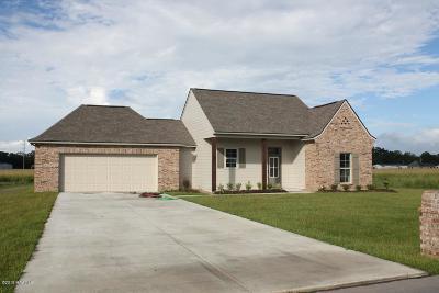 Breaux Bridge Single Family Home For Sale: 46 Hammock Lane