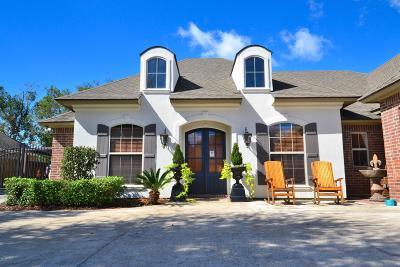 broussard Single Family Home For Sale: 117 Diamond Creek Drive
