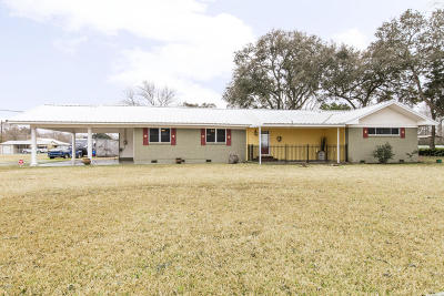 Church Point Single Family Home For Sale: 9306 Church Point Highway