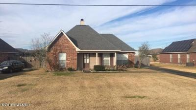Abbeville  Single Family Home For Sale: 1106 Wildcat Drive