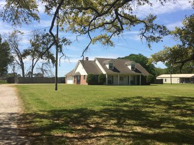 Jeanerette Single Family Home For Sale: 2614 Olivier Rd