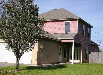 Lafayette Single Family Home For Sale: 100 La Rue Vil