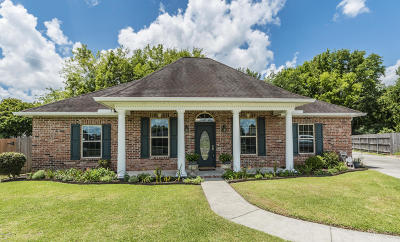 Lafayette Single Family Home For Sale: 309 Wind Haven Lane
