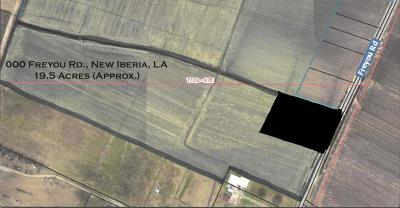 New Iberia Residential Lots & Land For Sale: Freyou Road