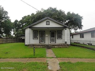 Jeanerette Single Family Home For Sale: 2011 Georgia