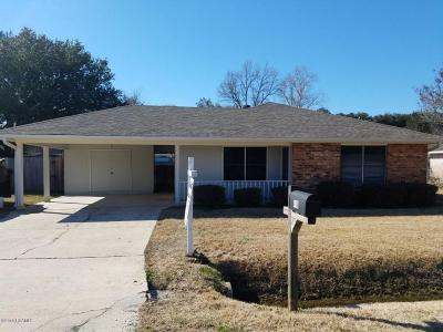 Carencro Single Family Home For Sale: 418 Estelle