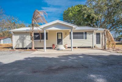 New Iberia Single Family Home For Sale: 5702 Patoutville Road