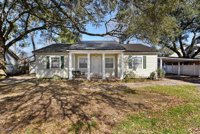 St. Martinville Single Family Home For Sale: 120 W Park