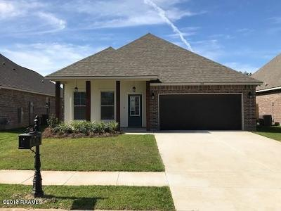 Youngsville Rental For Rent: 206 Caillou Grove Road