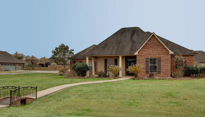 Duson Single Family Home For Sale: 106 Crepe Myrtle