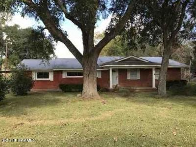 Ville Platte Single Family Home Active/Contingent: 6069 Highway 167 N
