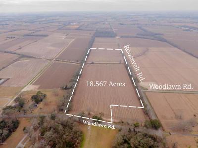 Vermilion Parish Farm For Sale: Woodlawn & Roosevelt Rd