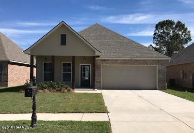 Youngsville Rental For Rent: 205 Caillou Grove Road