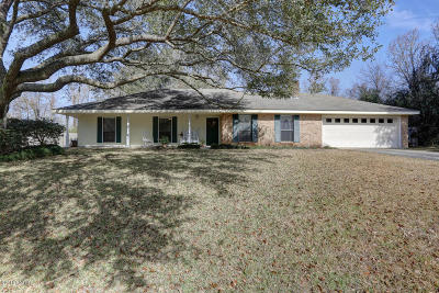 Carencro Single Family Home For Sale: 160 Greenfield Drive