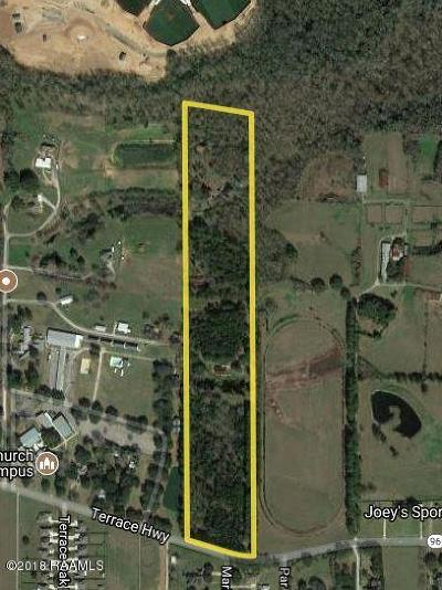 St Martin Parish Residential Lots & Land For Sale: 815 Terrace Highway