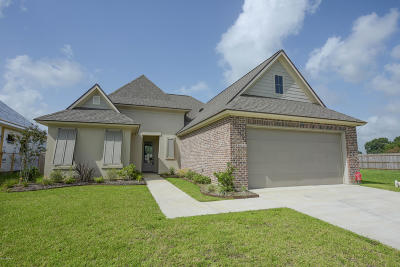 Broussard Single Family Home For Sale: 106 Tennyson Drive