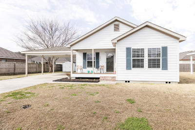 Duson Single Family Home For Sale: 121 Stoneburg Drive