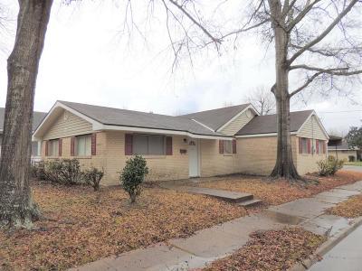 Lake Charles Single Family Home For Sale: 3519 Center Street