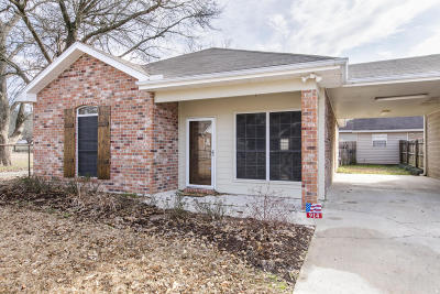 Broussard Single Family Home For Sale: 914 W Monroe Street