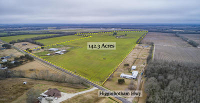 Acadia Parish Farm For Sale: Higginbotham Hwy