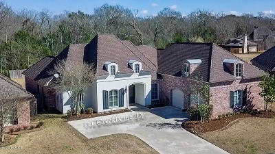 Lafayette Single Family Home For Sale: 111 Creek Bend