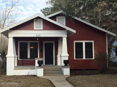 Single Family Home For Sale: 500 S 5th Street