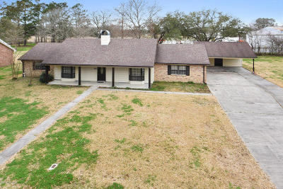 St. Martinville Single Family Home For Sale: 1016 Academy Drive