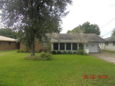 Eunice Single Family Home For Sale: 1240 B & B