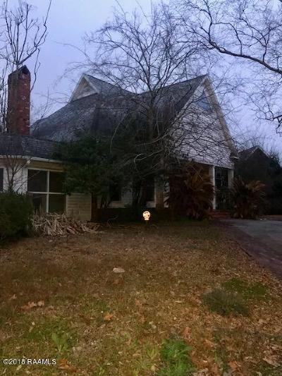Lafayette Single Family Home For Sale: 101 Turfway