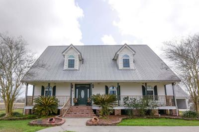 New Iberia Single Family Home For Sale: 611 Creighton Broussard Road