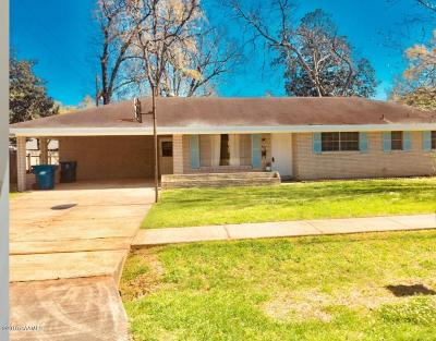 Lafayette Single Family Home For Sale: 121 Gordon Crockett Drive