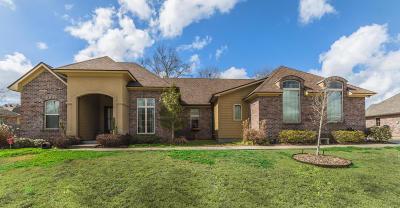 Broussard Single Family Home For Sale: 135 Heathwood Drive