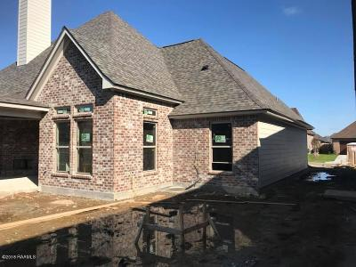 Broussard Single Family Home For Sale: 410 Misty Wind Drive