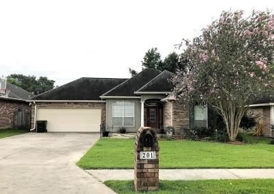 Scott Single Family Home Active/Contingent: 201 Olive Vista Drive