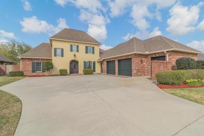 Lafayette Parish Single Family Home For Sale: 1101 Le Triomphe Parkway
