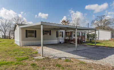 New Iberia Single Family Home For Sale: 2514 Snapper Road