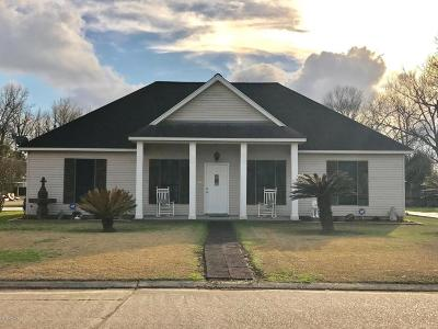 New Iberia Single Family Home For Sale: 404 Texaco Street