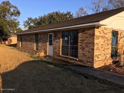Breaux Bridge Single Family Home For Sale: 1048 Madeline
